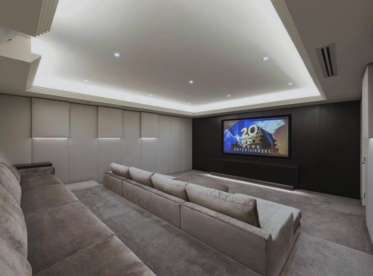 35 Clever Media Room Ideas In 2020 Small Movie Room Home Theater Room Design Home Cinema Room