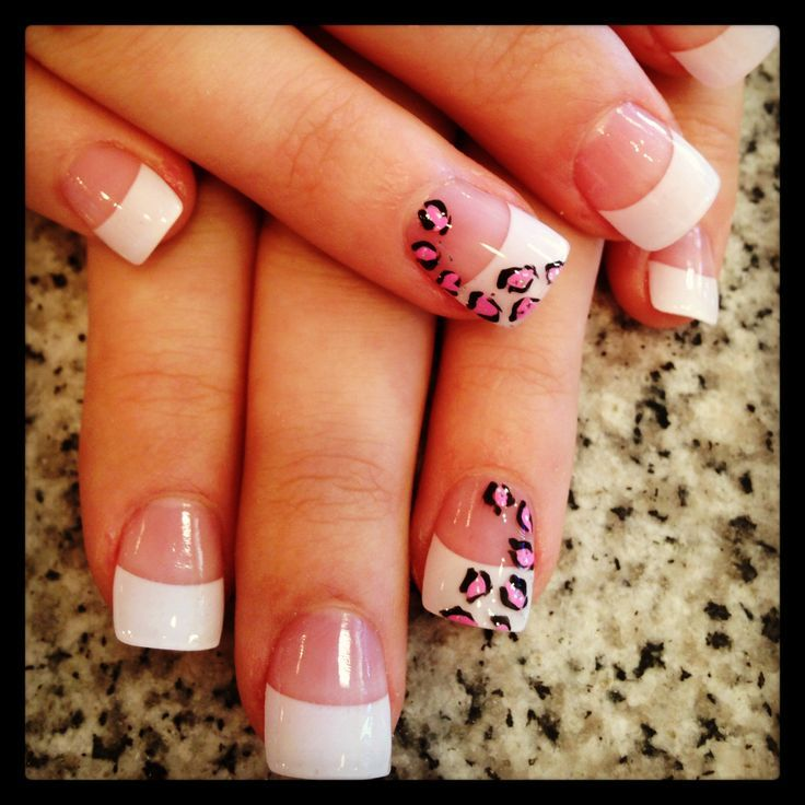 chic-beautiful-and-modern-cool-white-tip-nail-designs-french ...