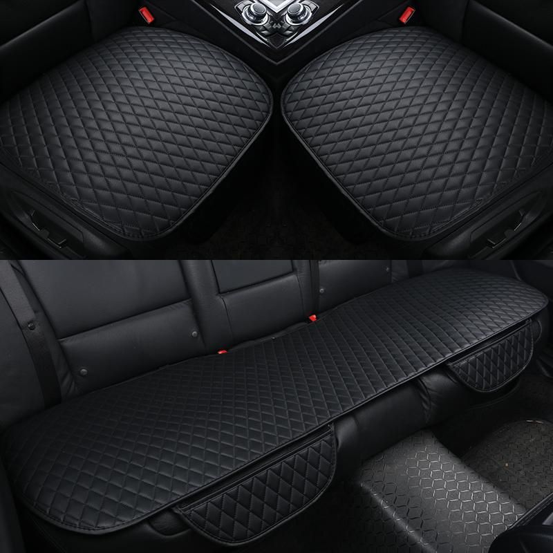 Pu Leather Car Seat Covers Cushion Four Seasons General Cushions Front Back Fit All Size Yesterdays Price US 975 846
