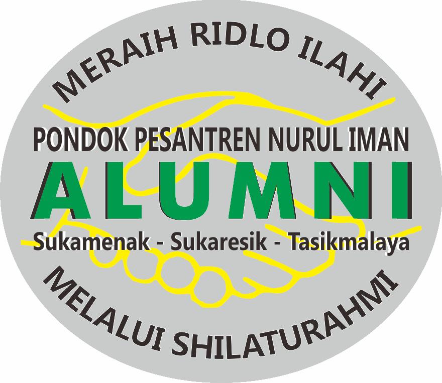 Logo Alumni Pondok Pesantren Nurul Iman Sukamenak Sukaresik Tasikmalaya Jawa Barat Indonesia