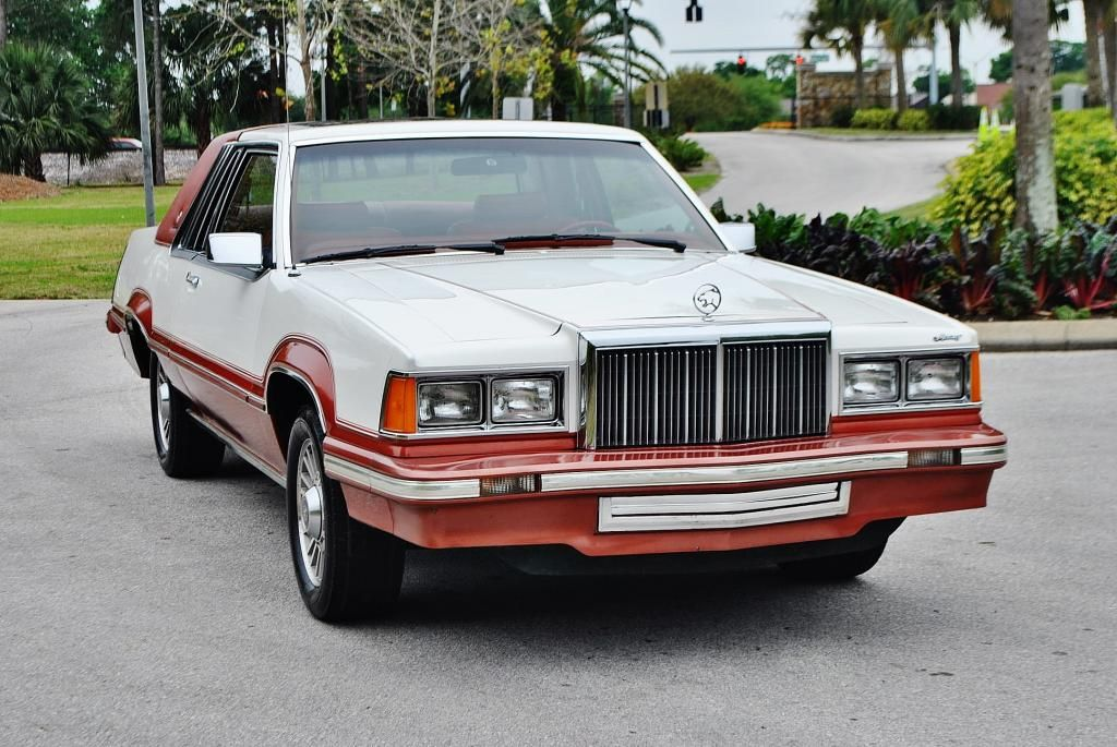 1980 Mercury Cougar Xr7 In White And Bright Bittersweet