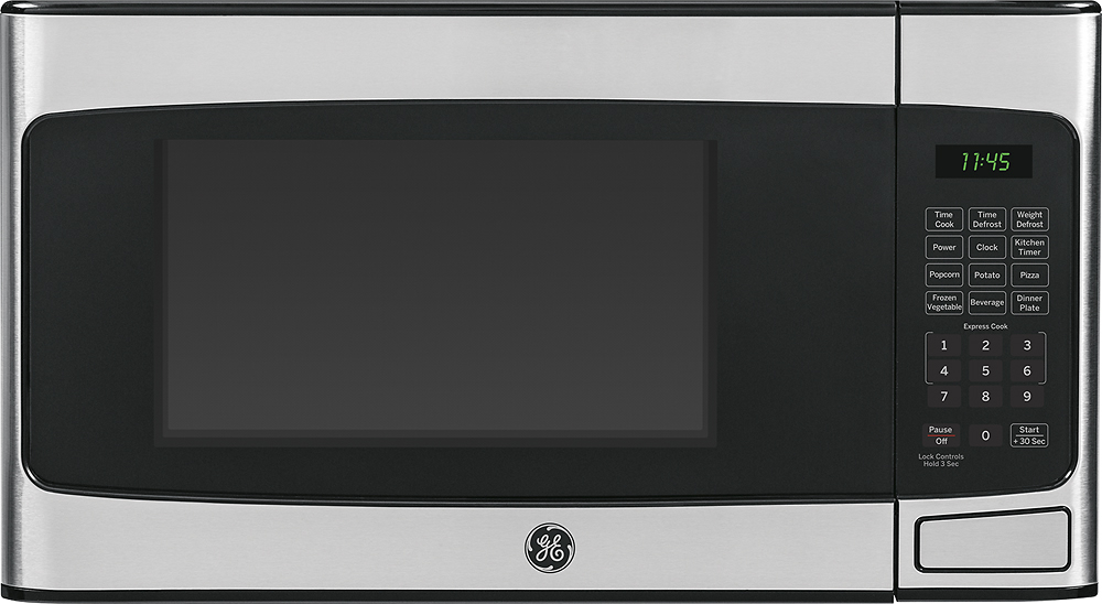 Ge 1 1 Cu Ft Mid Size Microwave Stainless Steel Jes1145shss In