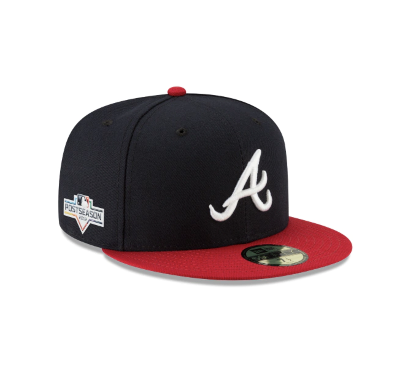 Atlanta Braves Postseason Side Patch 59fifty Fitted Atlanta Braves Fitted Hats Braves