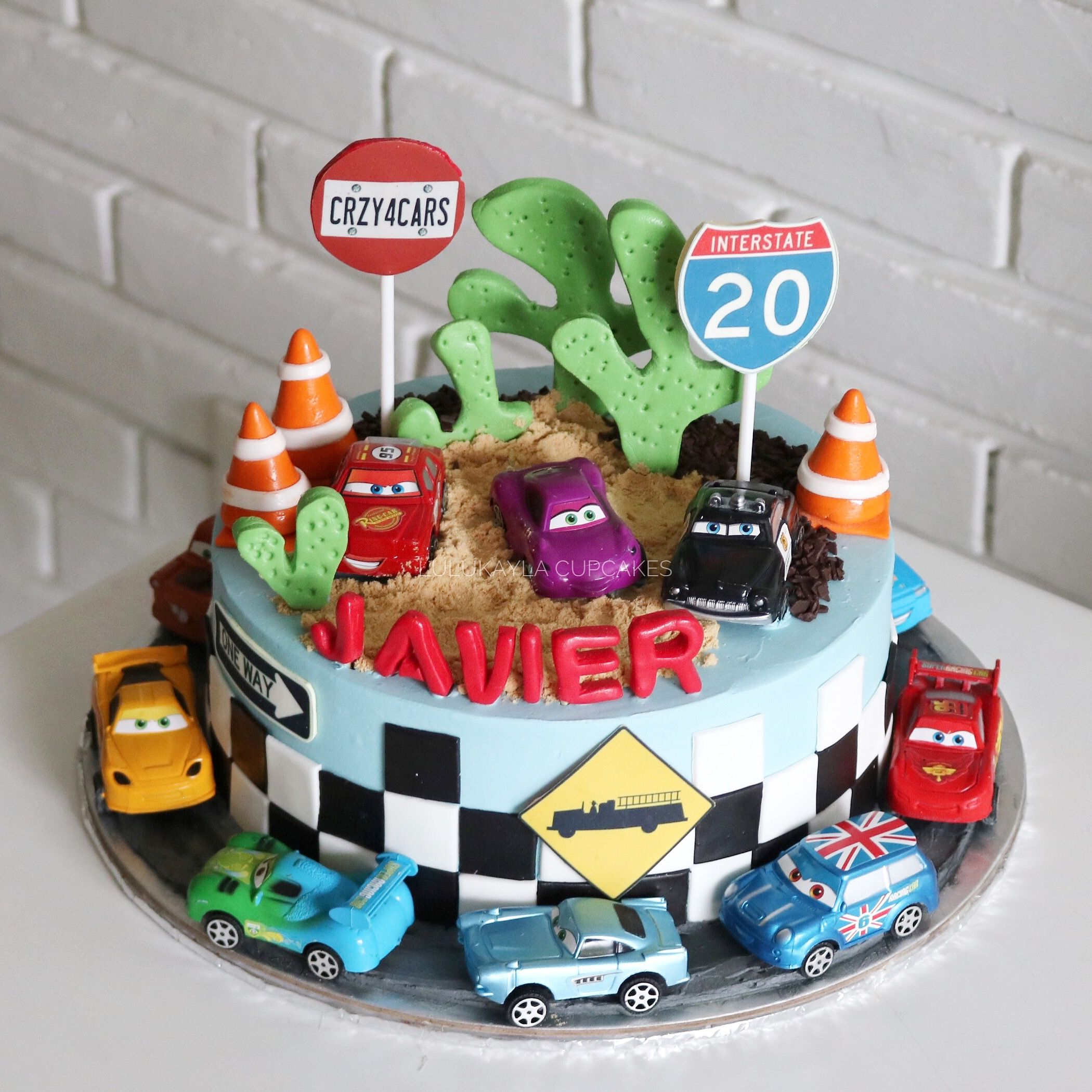 Cars Disney Cake With Images Disney Cars Cake Cars Birthday
