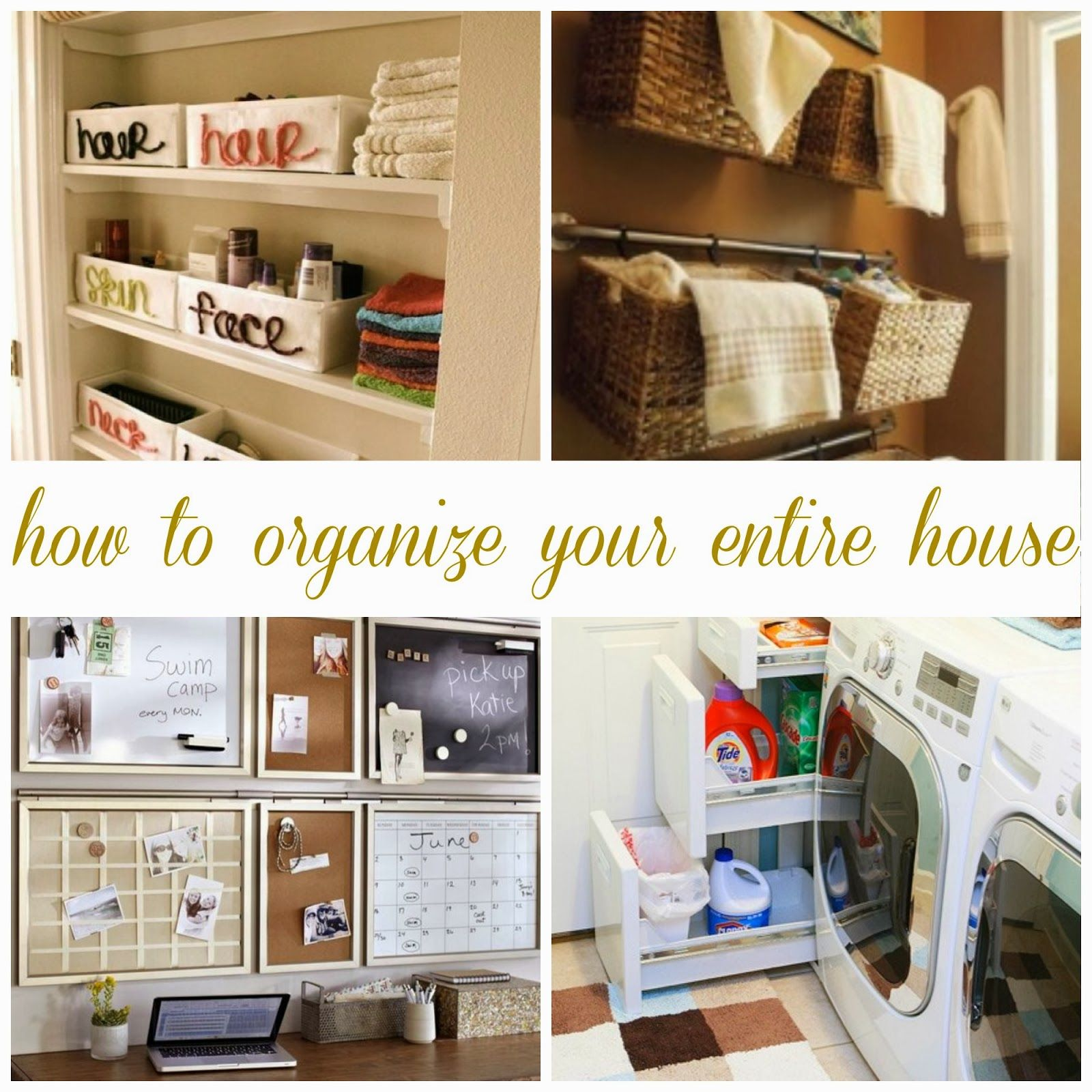 How To Organize Your Entire House All Things Katie Marie – Organize Garage Plans