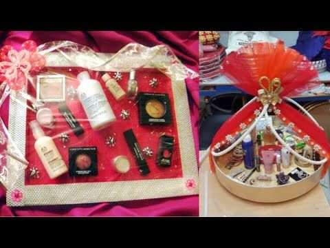 89189ef0c Bridal makeup packing ideas Beautiful packing ideas for Indian bridal  makeup - YouTube
