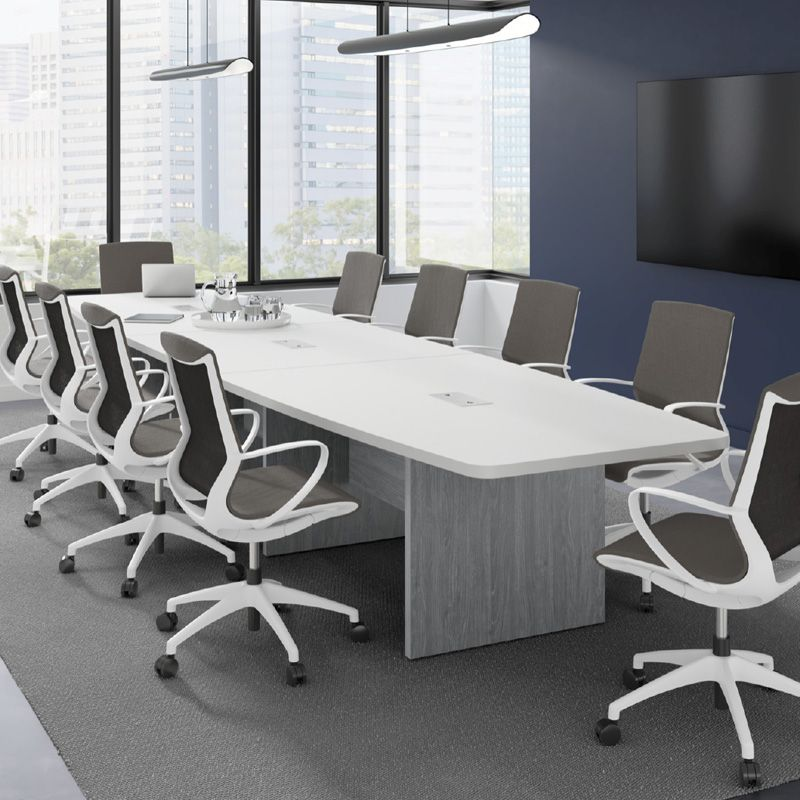 Surprising This Boatshaped Conference Table Will Add A Classy And Home Remodeling Inspirations Basidirectenergyitoicom