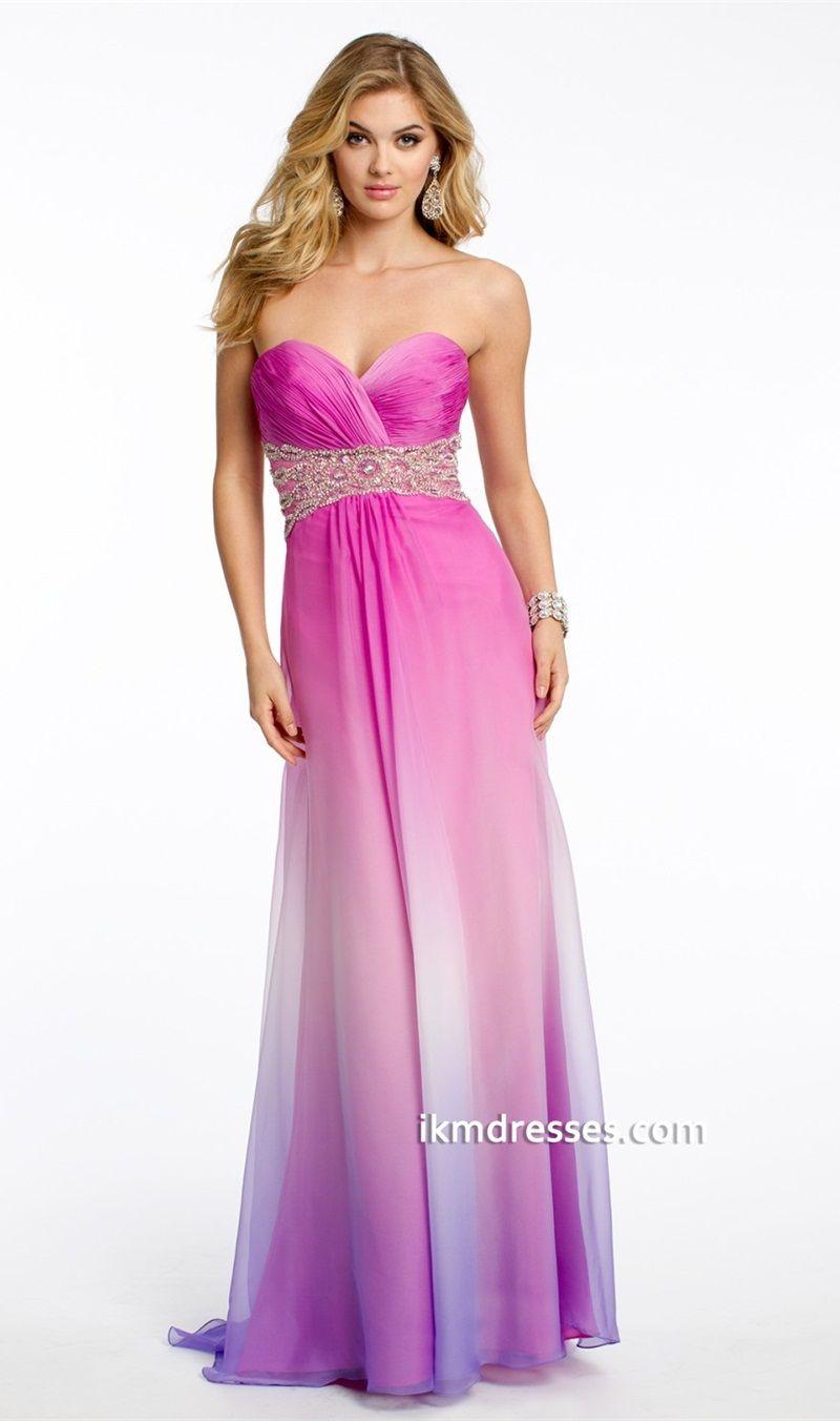 Ombre Chiffon Dress 001 | Costume | Pinterest