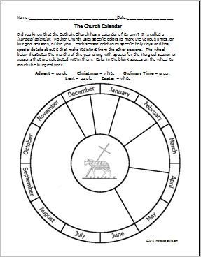 Free Printable Catholic Liturgical Calendar 2020 : printable, catholic, liturgical, calendar