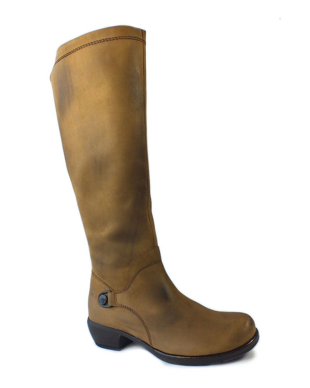 """Spotted this FLY London """"Mistry"""" Leather Tall Boot on Rue La La. Shop (quickly!)."""