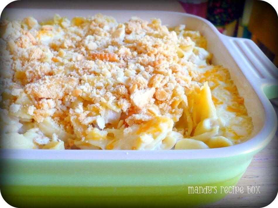 Mandy's Easy Cheesy Chicken Casserole