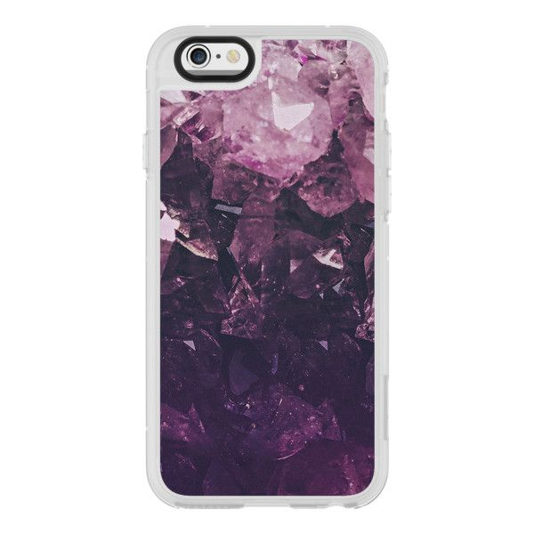 iPhone 6 Plus/6/5/5s/5c Case - Amethyst (€36) ❤ liked on Polyvore featuring accessories, tech accessories, iphone case, iphone cases, iphone cover case, apple iphone cases and iphone hard case