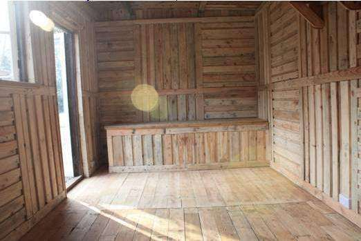 Great Ideas For Building Sheds From Recycled Wooden