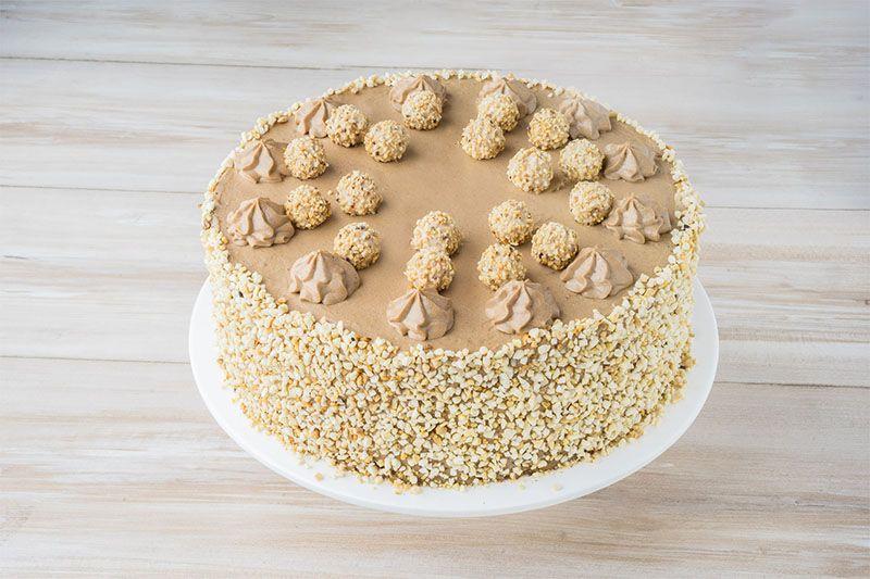 Sallys Rezepte Giotto Haselnuss Torte Giotto Torte Kuchen Und