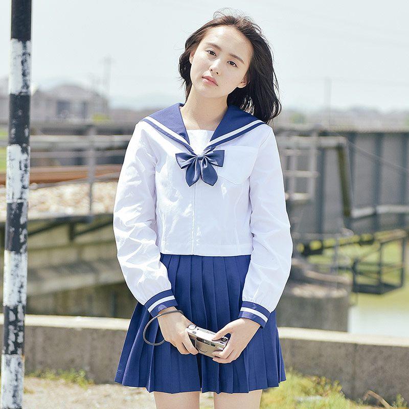 2017 summer japanese school uniforms style swimsuit cute