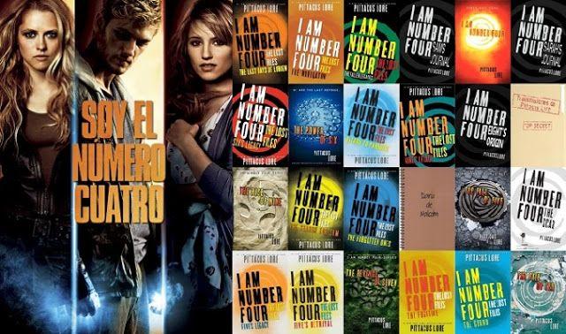 Seduccion Literaria Saga Legados De Lorien Soy El Numero Cuatro Pi Soy El Numero Cuatro Saga Numero Cuatro