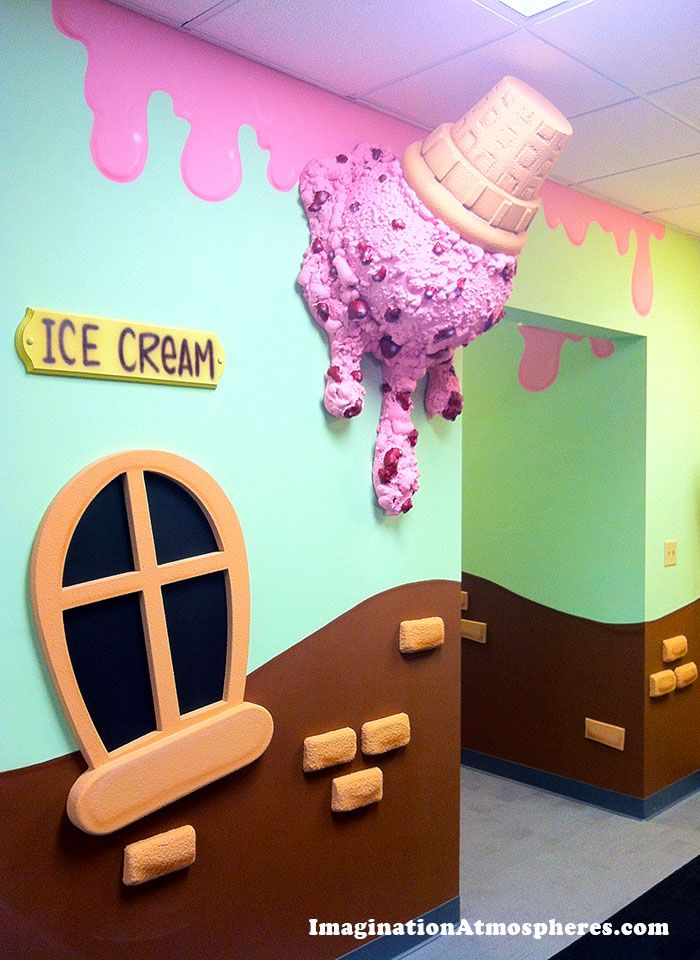 Children's hallway theme for CenterPoint Church, Concord, NH  www.imaginationatmospheres.com #hallway