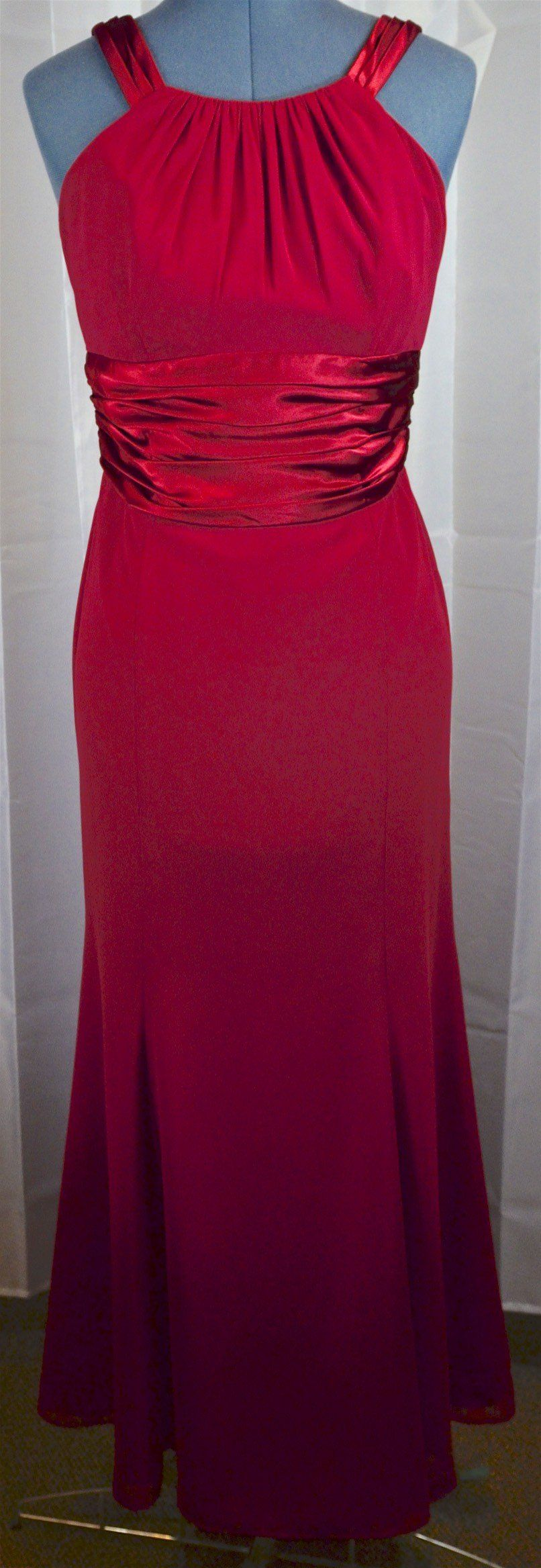 Davids Bridal Red formal gown | Red formal gown, Formal gowns and Formal
