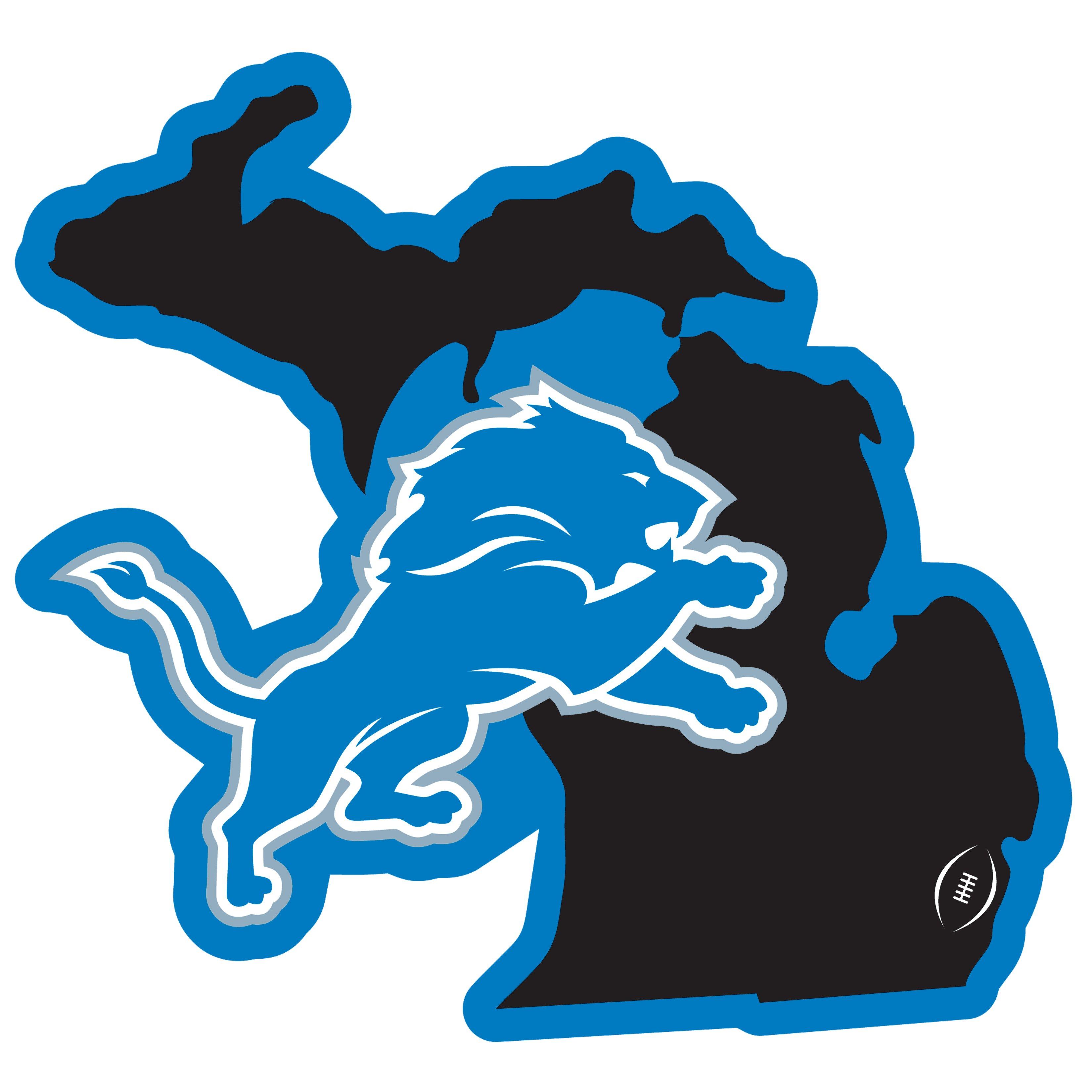 Detroit lions home state 11 inch sskg nfl
