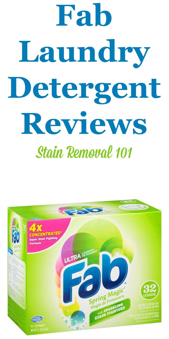 Fab Laundry Detergent Reviews Ratings And Information Fab