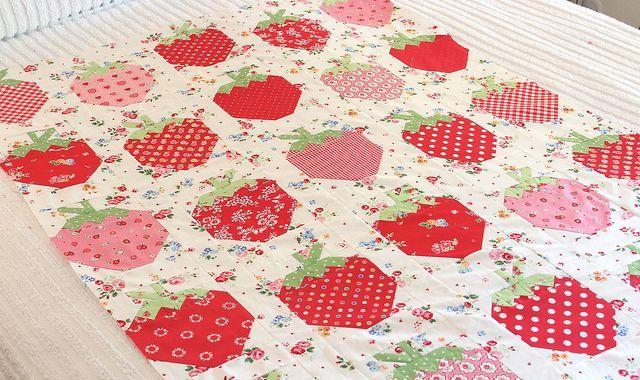 strawberries by PamKittyMorning, via Flickr
