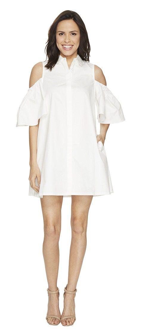 CATHERINE Catherine Malandrino Zito Dress (Empire White) Women's Dress - CATHERINE Catherine Malandrino, Zito Dress, MCD70013-127, Apparel Top Dress, Dress, Top, Apparel, Clothes Clothing, Gift, - Street Fashion And Style Ideas