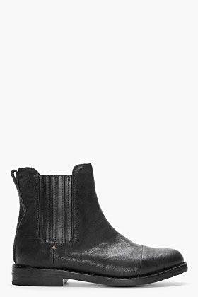RAG & BONE black Somerset Boot