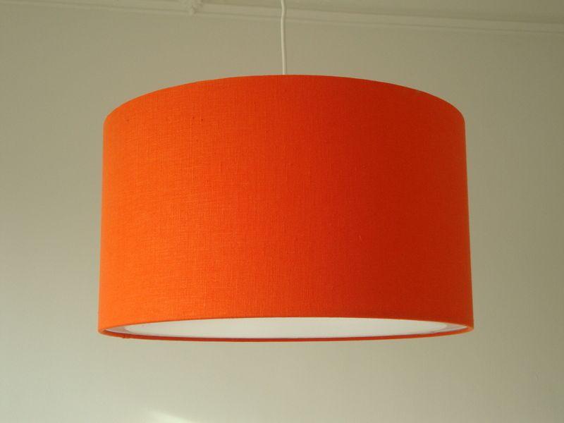 Lampenschirm Schlafzimmer ~ Lampenschirme lampenschirm retro orange cm streuscheibe m