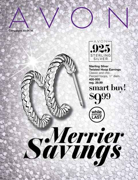 Browse Avon Campaign 23/24 flyer for Merrier Savings Shop Avon gifts online #avon #avononline #avoncampaign24 #holidays #savings