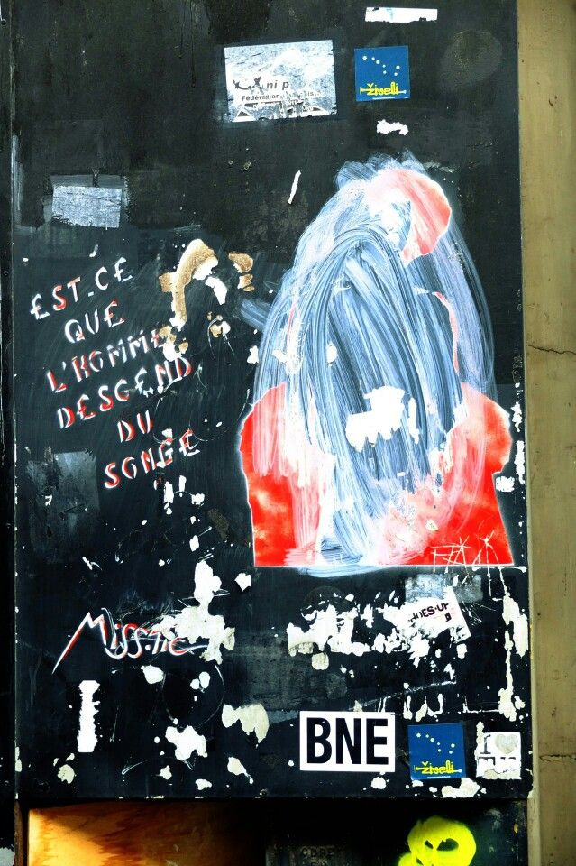 Paris 5 - rue dubenton - street art - miss tic