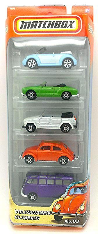 Volkswagen Classics 5 Pack Matchbox Cars Sir Charles Fav Things