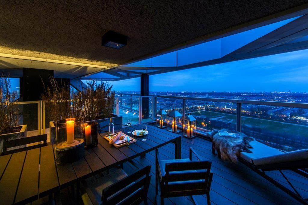 Spectaculair eric kuster penthouse van ca. 300 m² met riant