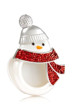 Snowman Scentportable Holder Bath Body Works Bath Body