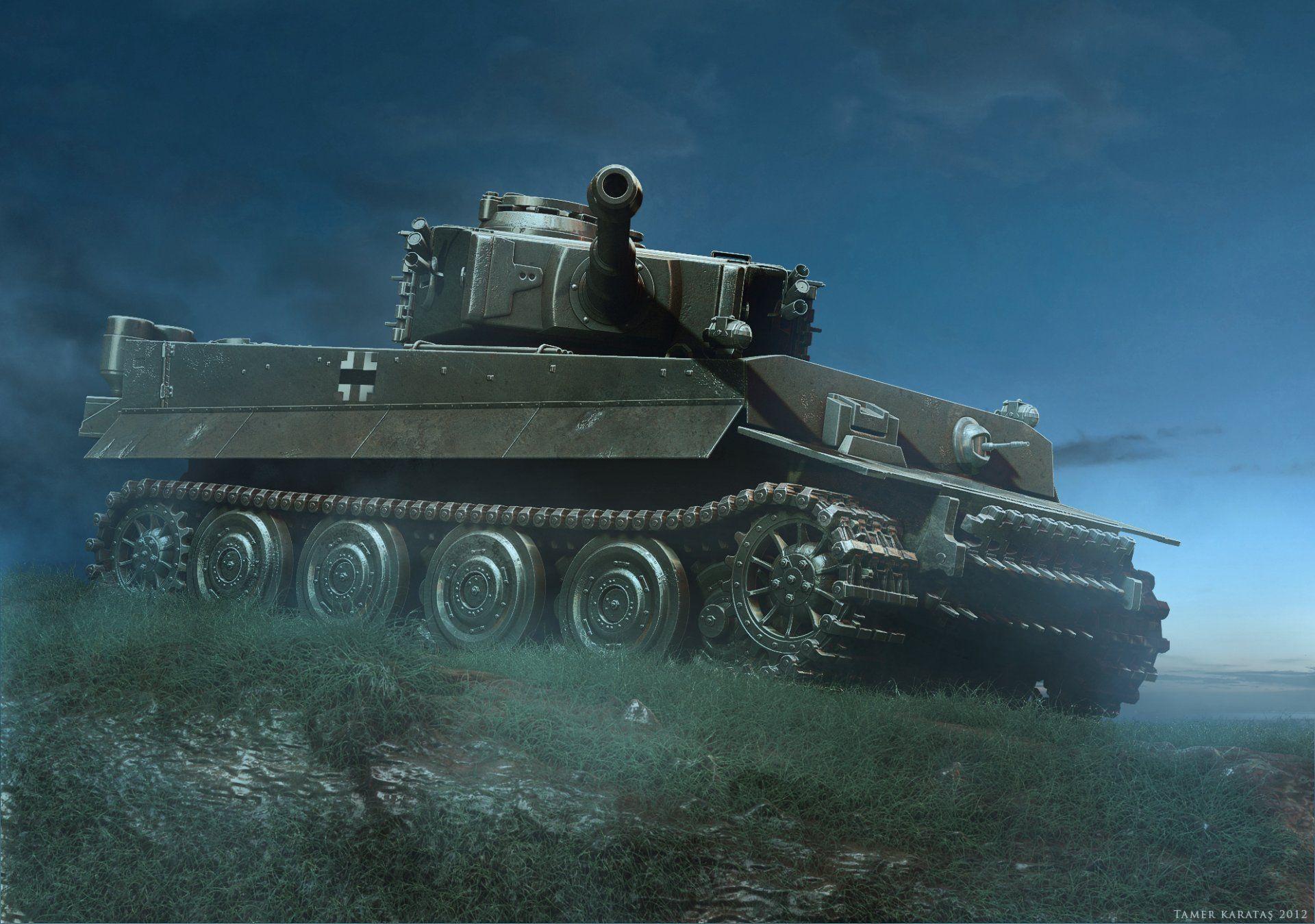 King Tiger Tank Wallpaper Tiger tank, Tank wallpaper