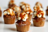 coffee caramel bourbon mini cupcake - I need to go to nyc to get one of these asap!