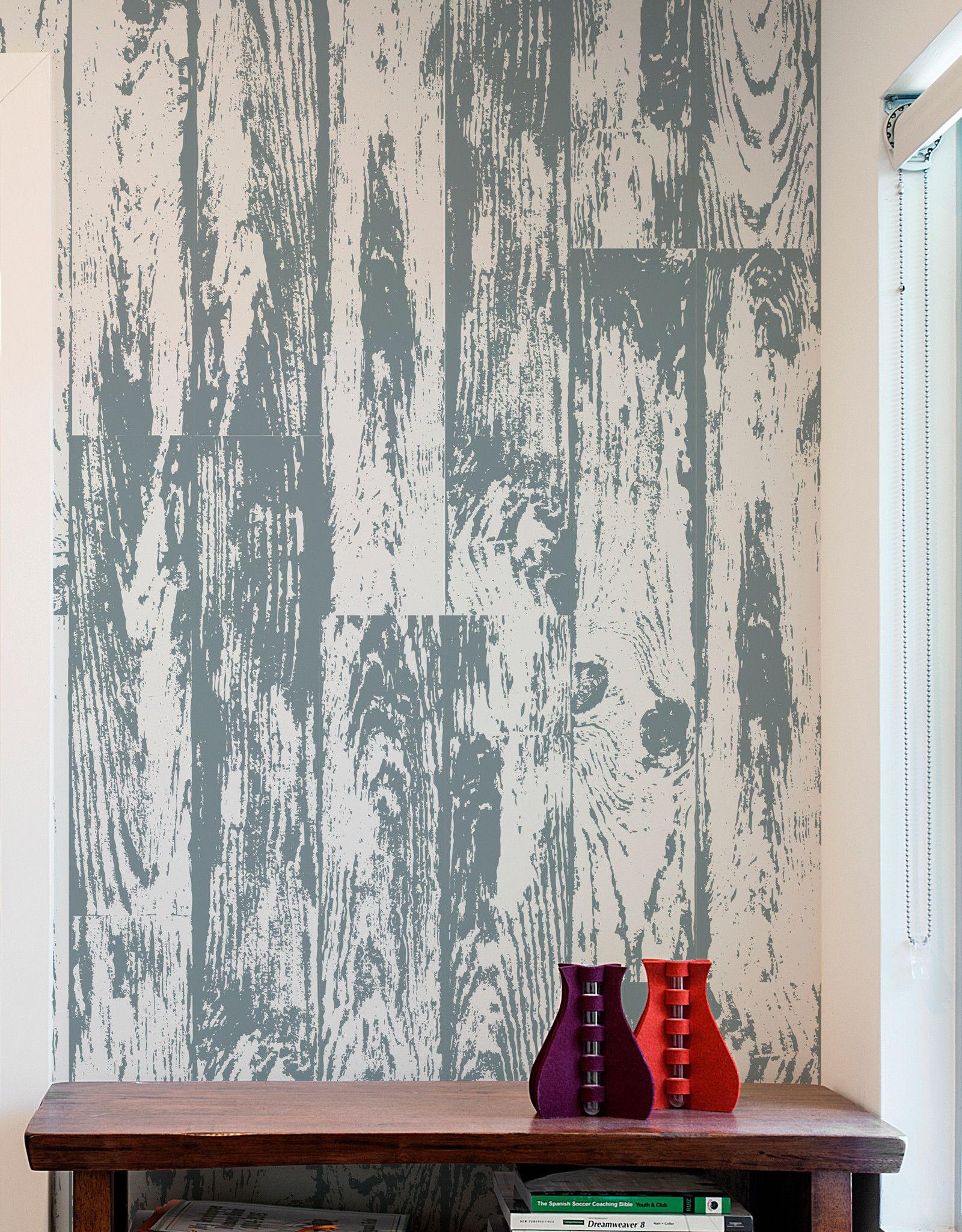 House Playwood Temporary Wallpaper Panel