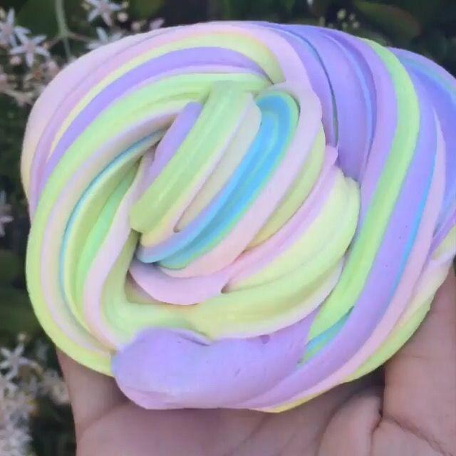 Fluffy pastel slime s l i m e pinterest slime rainbows fluffy pastel slime ccuart Choice Image