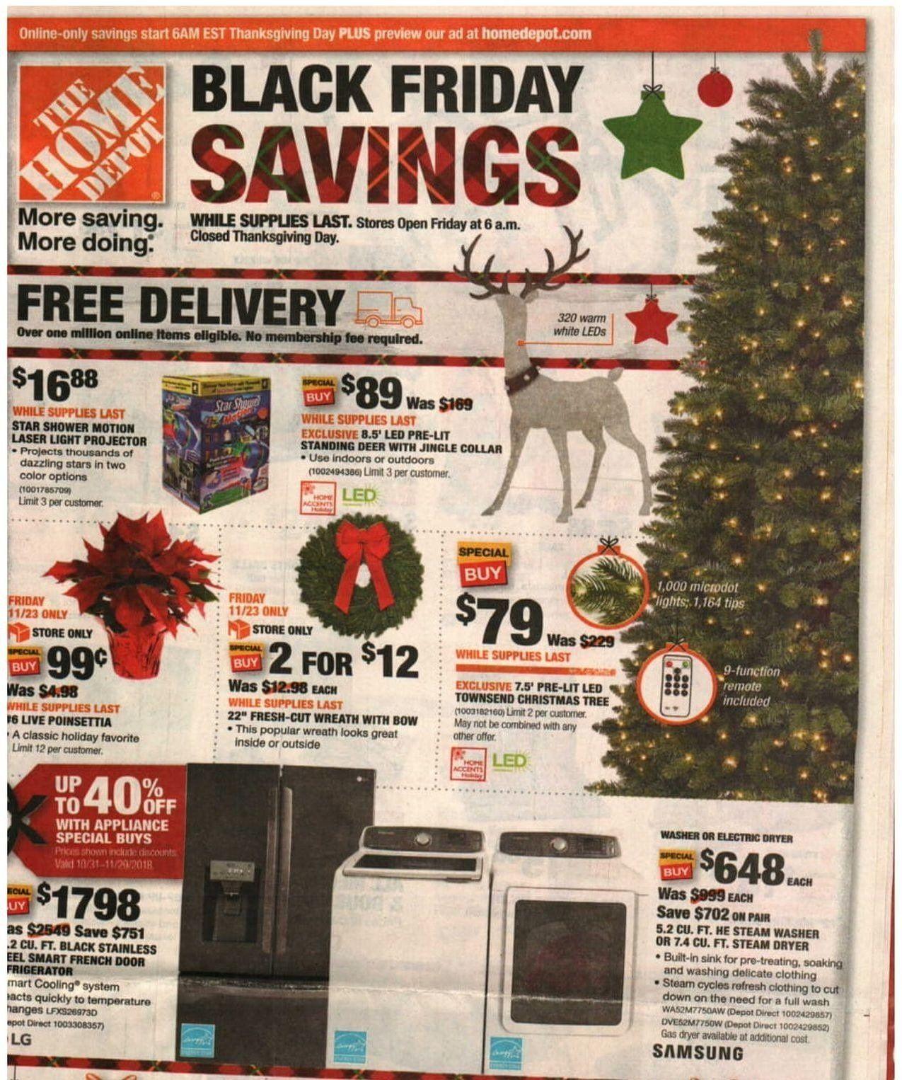 Home Depot 2020 Black Friday Ad Christmas Jobs Black Friday Ads Black Friday