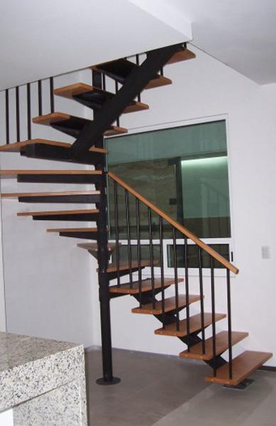 Escalera forma u yagul foto 003 suvire dise o calidad for Formas de escaleras