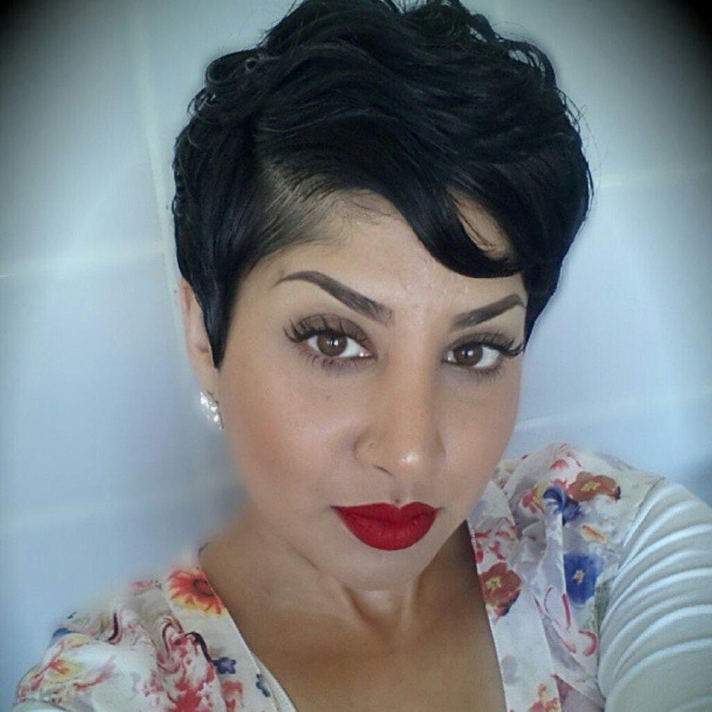 Cute Hairstyles For Girls With Short Hair Stunning I'm In Love With This Whole Look From The Hair To The Makeup