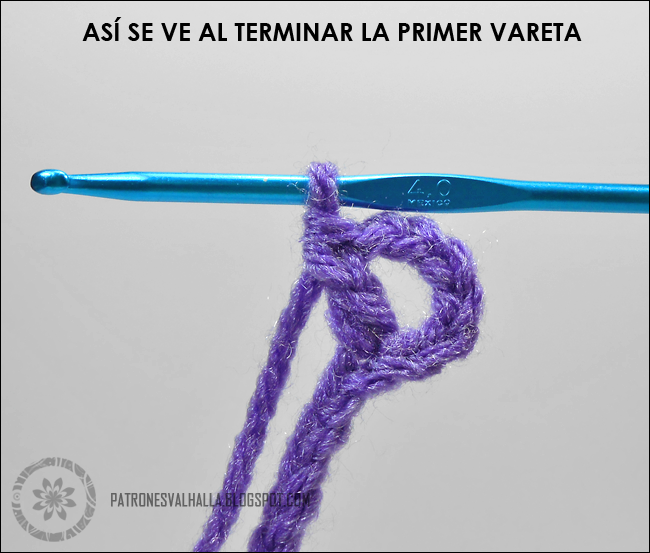 PASO A PASO PUNTO DE RED   crochet aprendizaje   Pinterest ...