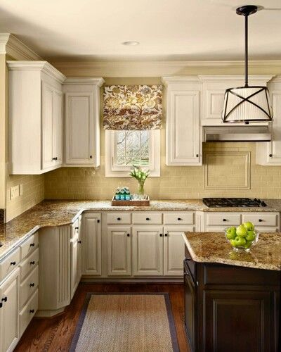 Creamy Sherwin Williams Kitchen In 2019 Kitchen Cabinets