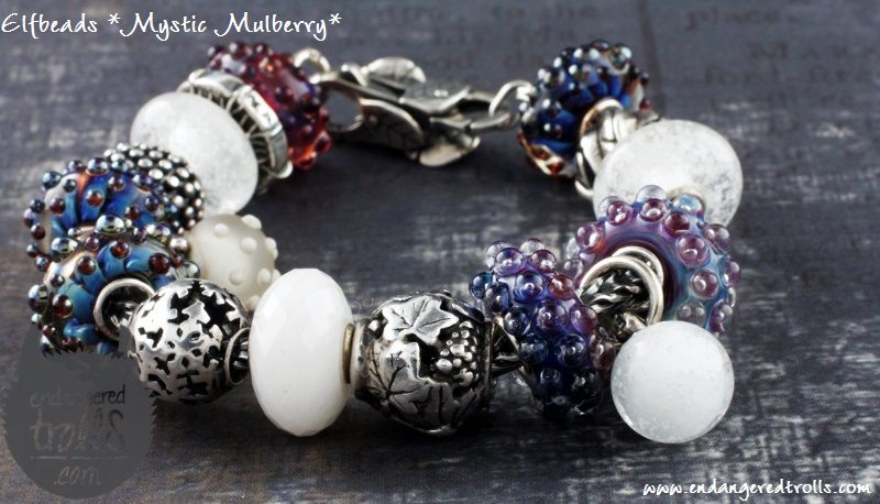 Elfbeads limited edition Mystic Mulberry