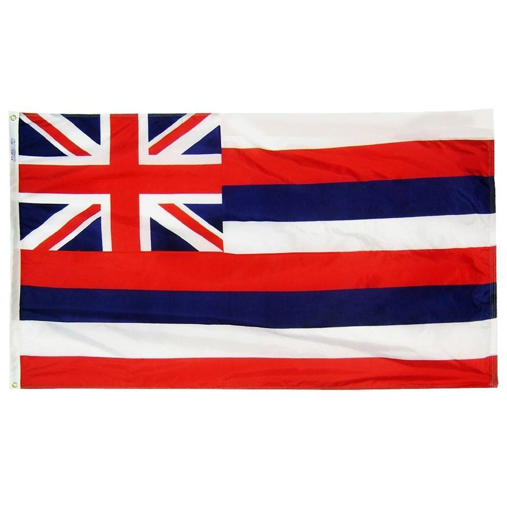 Annin Flagmakers 4 Ft X 6 Ft Hawaii State Flag Hawaii State Flag State Flags Hawaii Flag