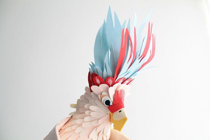 via Paper Animal Sculptures by Diana Beltran Herrera