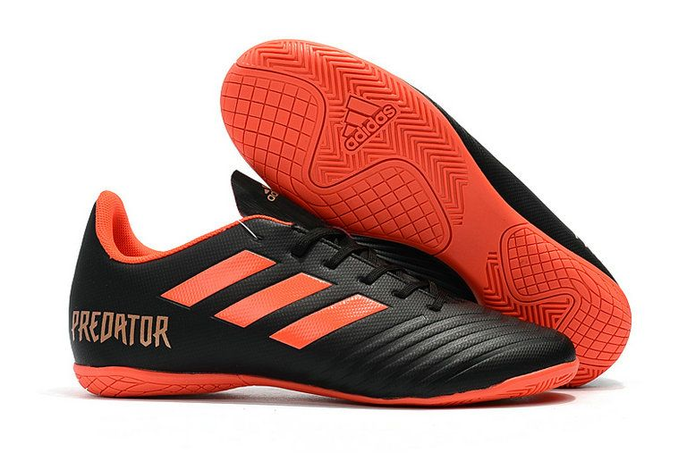wholesale dealer 45904 cbd4e Superior Quality Adidas Predator Tango 18 4 IN 2018 Word Cup Core Black Red  Gold Mens Football Shoes