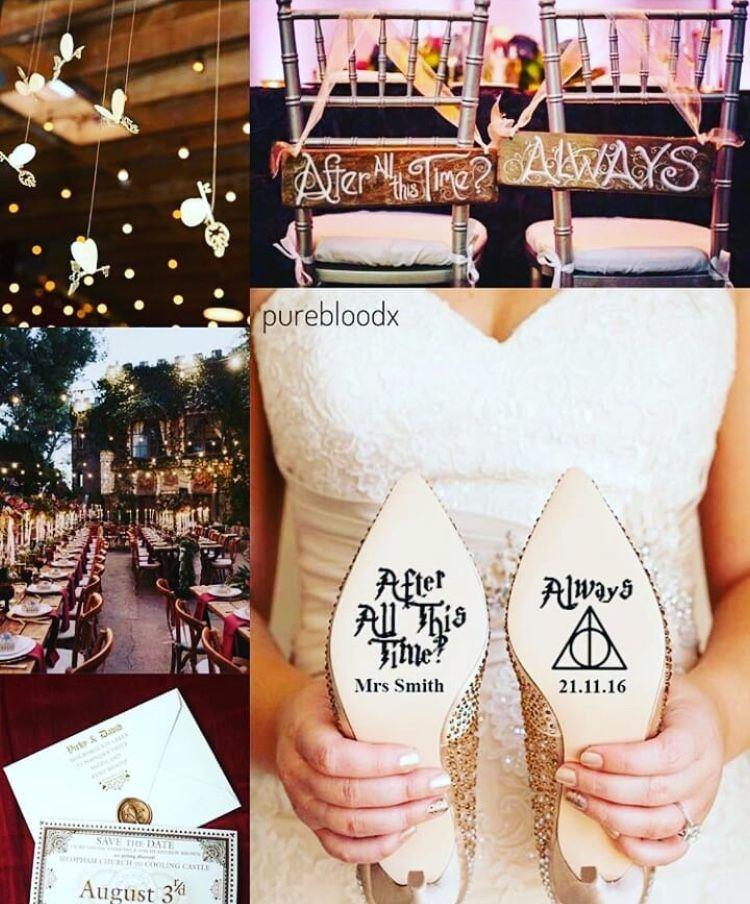 Harry Potter World Wedding: Harry Potter Wedding, Harry