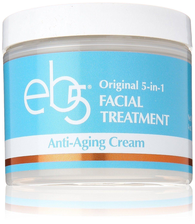 eb5 Intense Moisture Anti-Aging Skin Face Cream, 4 oz Absolute Oxygen Skin Calm Booster Serum (Salon Size) 16.9oz