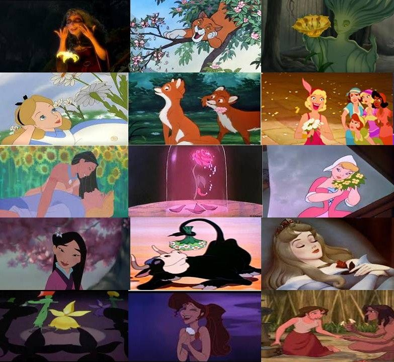 Disney Movie, Disney's Fantasia, Disney's Fantasia ... |Fantasia Movie Flowers