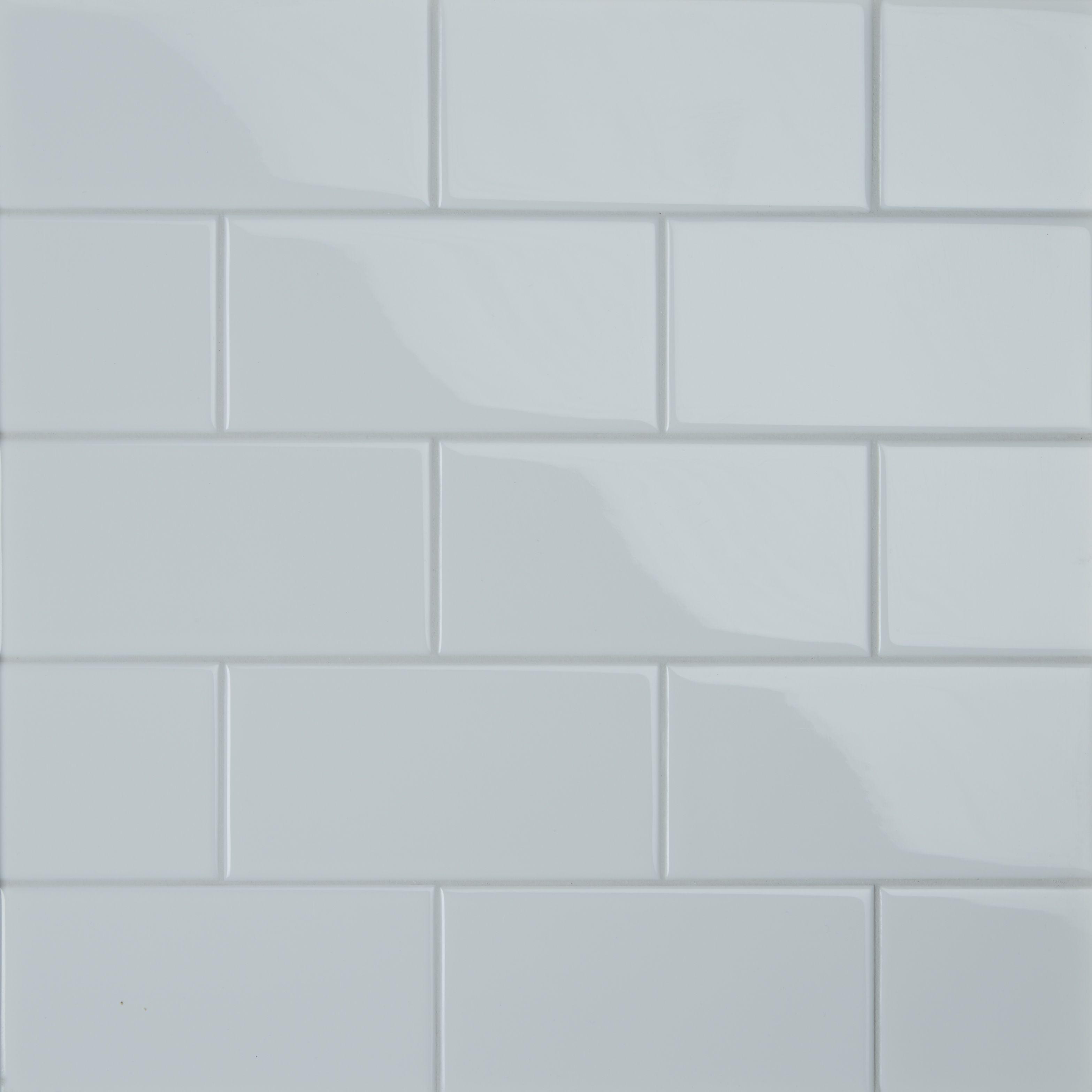 Metro White Save 70 Ceramic Wall Tiles Wall Tiles